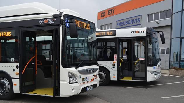 Nové autobusy MHD v Táboře