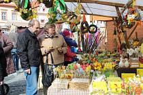 V sobotu se v Táboře konal tradiční velikonoční jarmark.