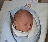 Václav Heřmánek z Tábora. Na svět přišel 3. dubna v 17.37 hodin. Po narození vážil 2370 gramů, měřil 45 cm a doma už má tříletého brášku Honzíka.
