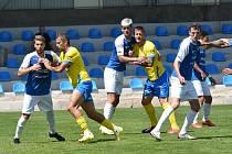Příprava v Písku: FK Teplice - FC MAS Táborsko 2:2.