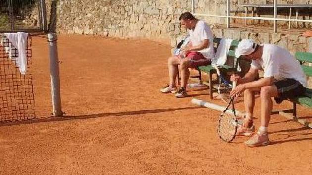 Hráči si při turnaji obvykle sáhnou na dno svých sil.