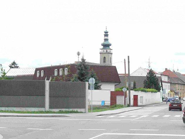 Pohled na soběslavskou věž.