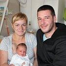 Barbora Záveská z Tábora. Prvorozená dcera rodičů Ivany a Jana přišla na svět 30. prosince minutu po dvaadvacáté hodině. Její váha po porodu byla 3420 gramů a míra rovných 50 cm.