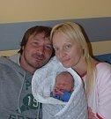 Antonín Tůma z Tábora. Poprvé na svět pohlédl  13. května ve 23.41 hodin. Prvorozený syn  rodičů Žanety a Tonyho po narození vážil 3010 gramů a měřil 45 cm.