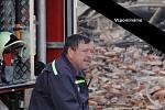 Zasloužilý hasič bratr Zdeněk Kubále, nositel Řádu svatého Floriána, dlouholetý velitel Jednotky sboru dobrovolných hasičů obce Tábor.