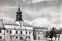 Stará radnice ve Veselí nad Lužnicí.