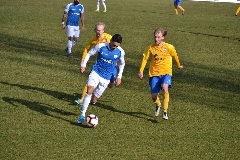 FC MAS Táborsko - SK Benešov 5:1.