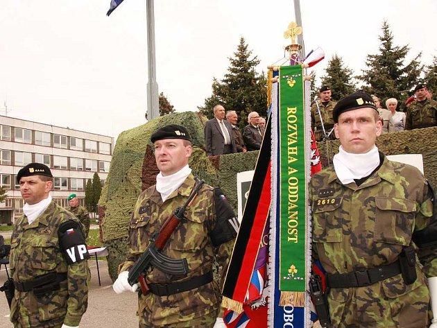 Vojenští policisté se hlásí k odkazu středověkých vojáků