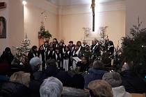 Vánoční koncert Nokturno 26. prosince v Sezimově Ústí.