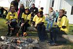 Den proti úložišti u kaple sv. Máří Magdalény na Jistebnicku.