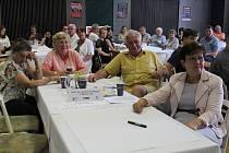 Táborského fóra Zdravého města se pravidelně účastní desítky lidí.