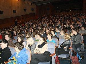 Diváci v kině. Ilustrační foto.