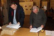 Z představení vědecká edice nejstarší táborské knihy, která jde do volného prodeje.