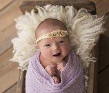 Leontina Drtinová ze Soběslavi. Rodičům Leně a Milanovi se narodila  11. února minutu před dvacátou hodinou. Její váha byla 3050 gramů, měřila  49 cm.