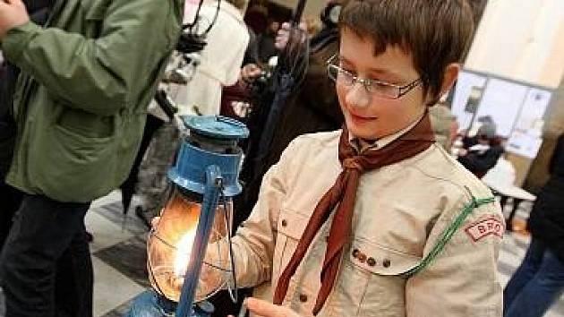 Ilustrační foto. Betlémské světlo