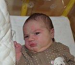 Hedvika Civínová z Turovce. Narodila se 21. dubna v 19.09 hodin.  Vážila 3950 gramů, měřila 51 cm a doma už má sestřičky Zdislávku (10), Bětku (7), Lidušku (3) a Marušku (2).