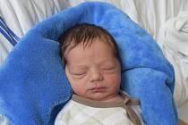 Jaromír Fuka ze Řepče. Na svět poprvé pohlédl 7. října ve 12.44 hodin. Prvorozený syn rodičů Hany a Miroslava po narození vážil 3000 gramů a měřil 49 cm.