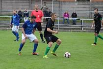 Z utkání Sokol Lom - FK Malše Roudné 4:0.