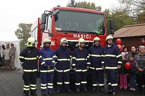 Dobrovolní hasiči z Plané nad Lužnicí dostali novou cisternu