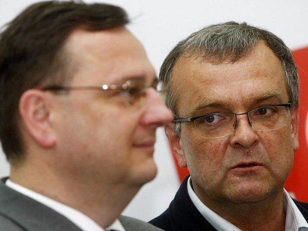Miroslav Kalousek (vpravo).
