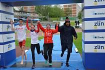 Elitní štafeta Triathlon Teamu Tábor se ve Zlíně radovala z bronzu.