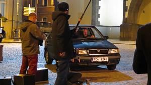 Druhý díl detektivní série České televize Místo zločinu České Budějovice točili filmaři také v Táboře.