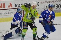 Táborští hokejisté dnes míří k odvetě na trutnovský led.