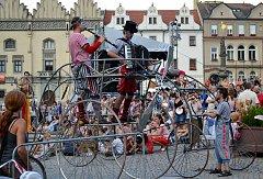 První srpnový víkend v Táboře okoření také letos populární festival Komedianti v ulicích.