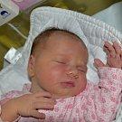 Valerie Garská z Tábora. Narodila se 6. října v 15.20 hodin. Vážila 3720 gramů, měřila 51 cm a je prvním dítětem rodičů Veroniky a Honzy.