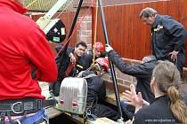 Další průzkumy propadlé šachty na Horkách