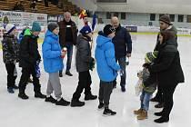 Svým milým příspěvkem potěšili rodinu Danečka i žáci ZŠ Zborovská.