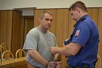 Pavla Zárubu uznal táborský soud vinným z vraždy v roce 2003. Po 12 letech se sem vrátil.