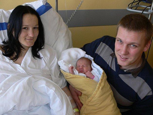Jako první v novém roce se v táborské nemocnici  narodila Natálie Orságová.