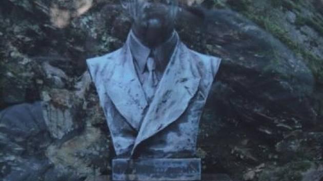 Busta Edvarda Beneše ze zahrady Benešovy vily