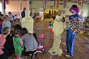 Karneval pro děti v Komárově.