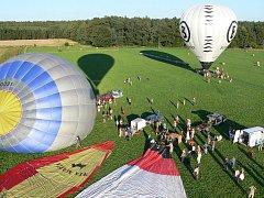 Podzimní sudoměřické balonové nebe 2011.