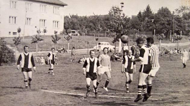 Fotbalové utkání v Mladé Vožici.