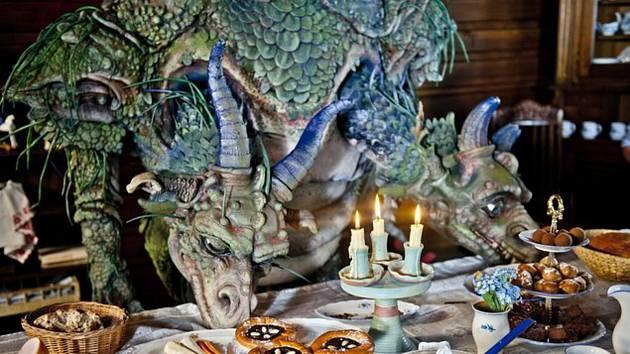 Ilustrační foto - Pohádka Když draka bolí hlava.