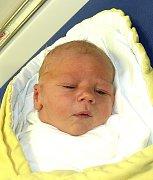 ONDŘEJ VALEŠKA Z TÁBORA. Je prvním dítětem rodičů Jitky a Roberta. Narodil se 4. ledna ve 14.17 hodin, vážil 4020 g.
