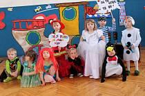 Děti z MŠ Hastrmánek si užily karneval.