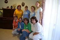 Štědrý den v domově seniorů v Bechyni.