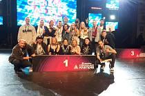 TŠ Atak s choreografií Cenzura vybojovala první místo ve druhé lize formací street dance.
