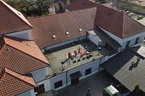 Vandrband hrál ze střechy