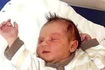 NELA PEČENKOVÁ ZE SEZIMOVA ÚSTÍ. Rodičům Pavle a Radimovi se narodila 5. května v 5.10 hodin jako jejich první dítě. Její váha byla rovných 3000 g a měřila 45 cm.