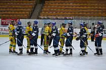 Přípravný duel týmu HC Tábor s Dvorem Králové (5:7) neplánovaně ukončil letošní hokejovou sezonu u Jordánu.