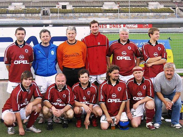 Bronzový tým Sparta Clubu Tábor.