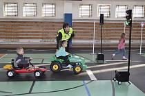 Děti si dopravní výuku užily.