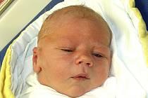 ONDŘEJ VALEŠKA Z TÁBORA. Je prvním dítětem rodičů Jitky a Roberta. Narodil se 4. ledna ve 14.17 hodin, vážil 4020 g a měřil  52 cm.