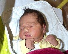 Eliška Jelínková z Veselí nad Lužnicí. Narodila se 29. srpna v 1.44 hodin s váhou 3660 gramů a mírou 49 cm. Je druhou dcerou v rodině, už má doma sestřičku Adélku (3,5).