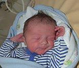 Jakub Kopecký z Řemíčova. Rodiče Šárka a Jakub se 11. dubna sedm minut před osmou hodinou dočkali svého prvorozeného syna. Malý Jakub po porodu vážil 3840 gramů.